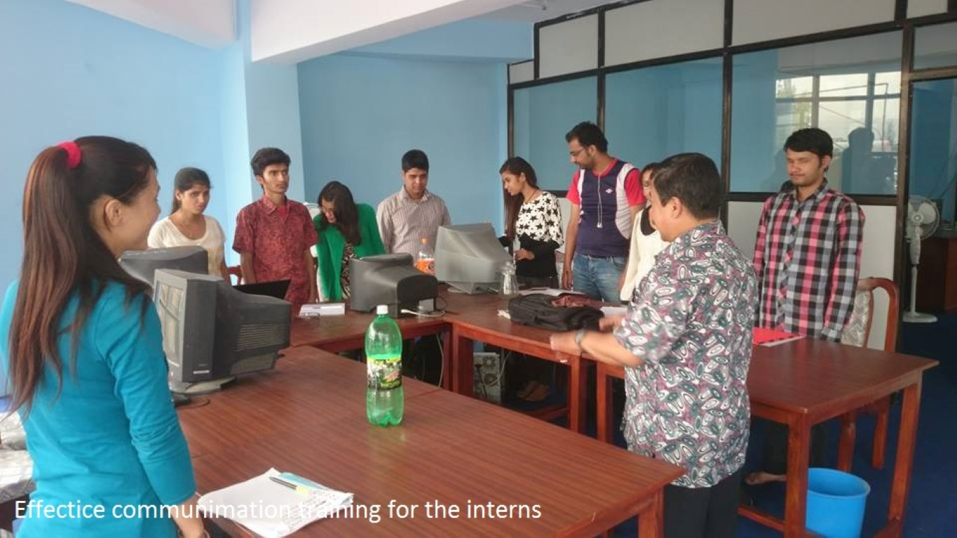 Effective Communication Trainings for the Intern