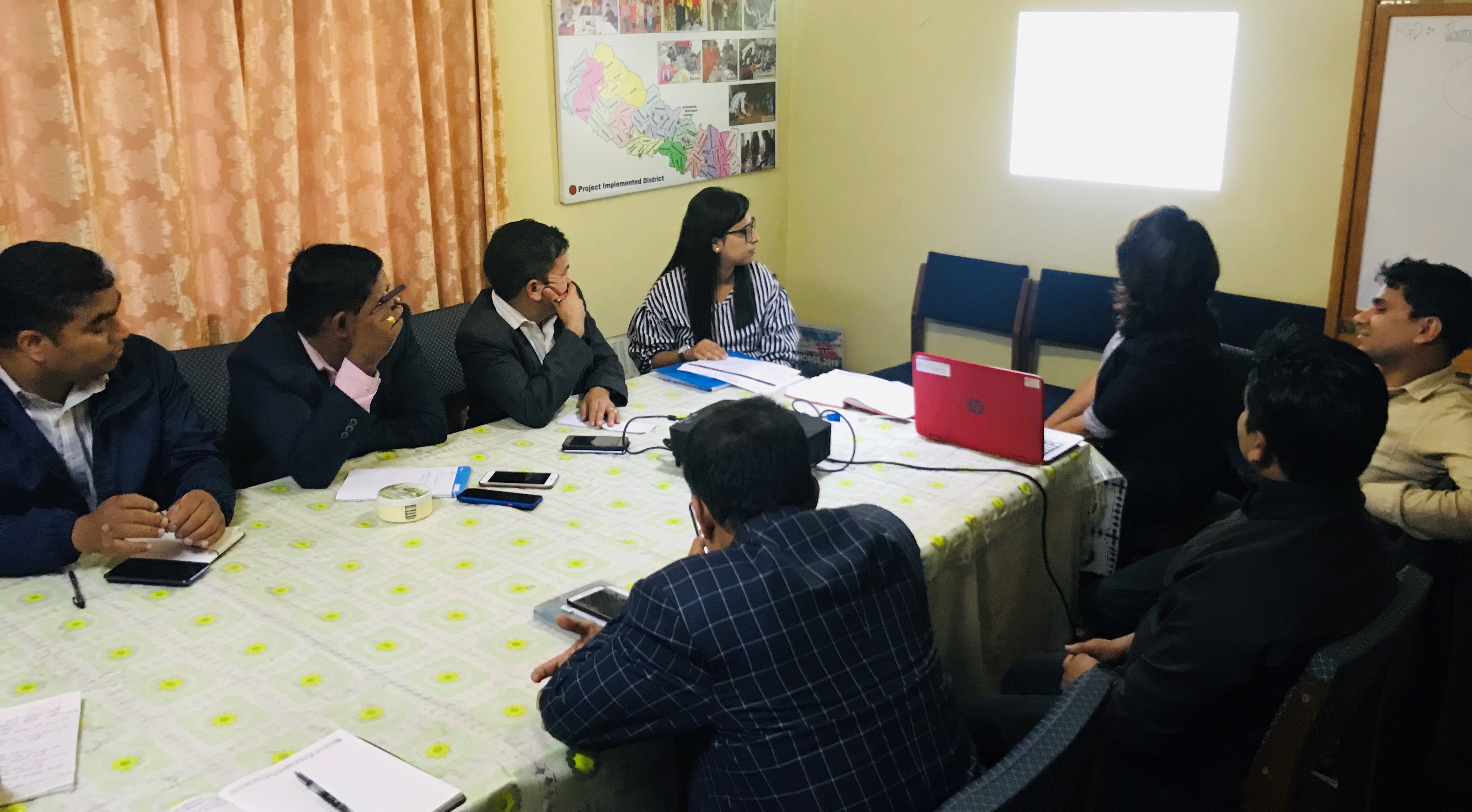 Second Project Reference Group Meeting   Blind Youth